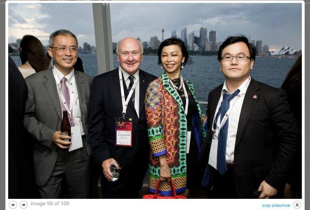Caroline Hong 187 China Entrepreneur Club Meeting Dr Ma Weihua In Sydney