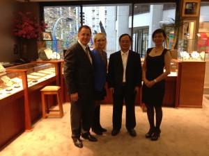 Costellos Mr Wu and Caroline Hong