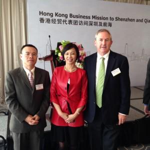 AFFHK 2014 Dr Caroline Hong Qianhai Shenzhen