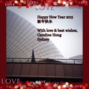 Caroline Hong Happy New Year 2015